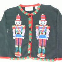 Toy Soldiers Protecting The Workshop-Kids Christmas Sweater