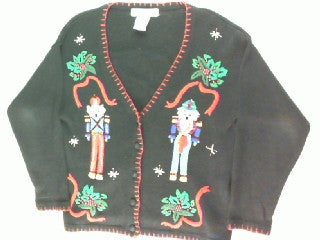 Nutcracker Or Two-Small Christmas Sweater