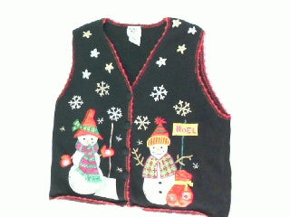 Big Red Bag-Small Christmas Sweater