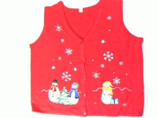 Single Lady- Large Christmas Sweater