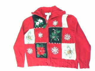 Signs of Christmas-Small Christmas Sweater