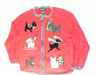 Howling Good Time-Small Christmas Sweater