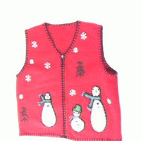 snowball-family-Small Christmas Sweater
