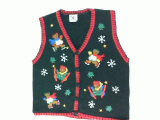 Beary Fun Holiday Vacation-Small Christmas Sweater