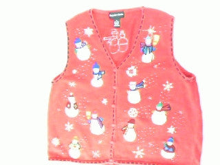 What To  Do Snowmen Everywhere- Large Christmas Sweater