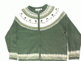 Holly For Your Snowman-Medium Christmas Sweater