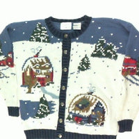 Cabin Fever-Small Christmas Sweater