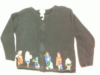 Ladies Shopping Day-Small Christmas Sweater