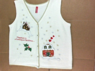 Home Spun Holiday-Large Christmas Sweater