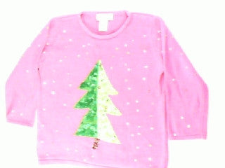Two Tone Tree-X Small Christmas Sweater