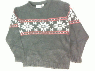 Snowing In A Row-X Small Christmas Sweater