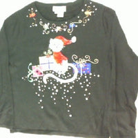 The Cat's Meow-X Small Christmas Sweater