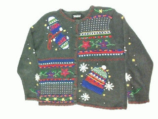 Do You Have Your Hat and Mittens-Small Christmas Sweater