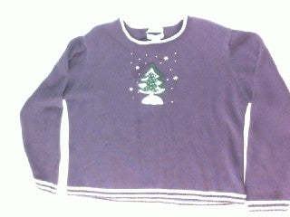 Standing All Alone-Small Christmas Sweater