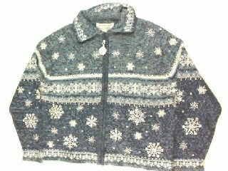 Sparkling In The Snow-Small Christmas Sweater