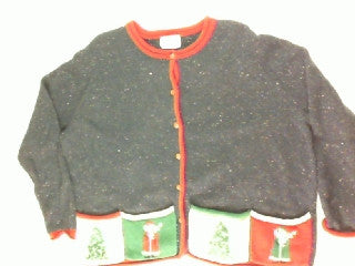 Santa Pick Pockets-XX Large Christmas Sweater