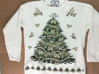 Fancy Tree-Small Christmas Sweater