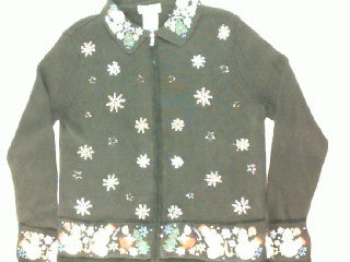 On The Edge Of The Holidays-X Small Christmas Sweater
