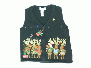 Spreading Reindeer Cheer-X Small Christmas Sweater