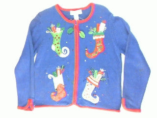 Look What Santa Did-Small Christmas Sweater