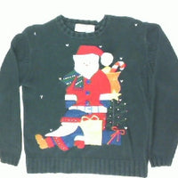 Have You Been Naughty or Nice-Small Christmas Sweater