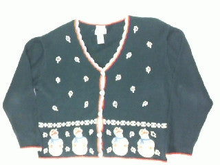 Simply Snowman- Large Christmas Sweater
