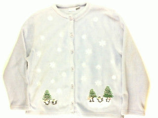 Ice Pond Party-Large Christmas Sweater