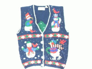 Snowman Activities-Small Christmas Sweater