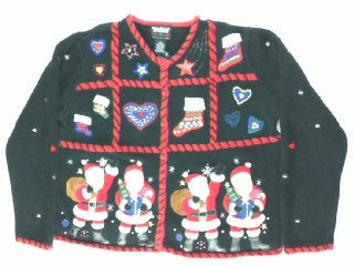 Santa Holiday Parade- Small Christmas Sweater