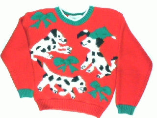 Put A Bow On The Puppy-X Small Christmas Sweater