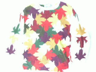 Leaf Dance-Small Christmas Sweater