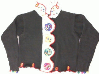 Jewels And Ornaments-X Small Christmas Sweater