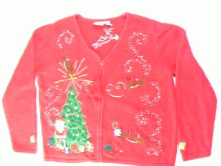 Taking Flight Magic- Medium Christmas Sweater