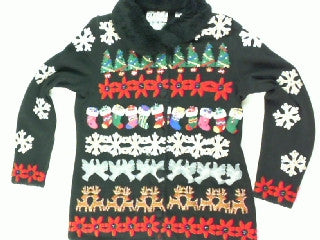 Holiday Busy-X Small Christmas Sweater