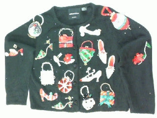 Bedazzled Beauty-Small Christmas Sweater