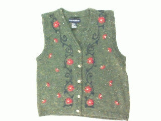 Fall Flowers-Xsmall Flower Sweater