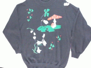 Going Mushrooms For You-Large Ugly Sweater