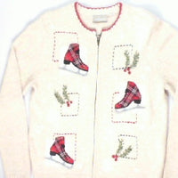 A Day On The Ice-Small Ice Skate Sweater