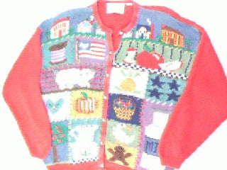 Farm Fresh- Large Animal Sweater