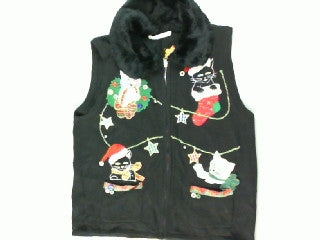Holiday Decorations A Cats Way- Small Christmas Sweater