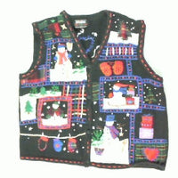 Snowman Holiday Fun-Small Christmas Sweater