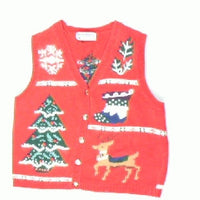 Rustic Holiday- Small Christmas Sweater