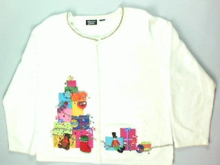 Gift Time-Medium Christmas Sweater