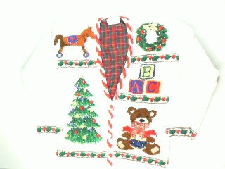 Playroom Tree- Small Christmas Sweater