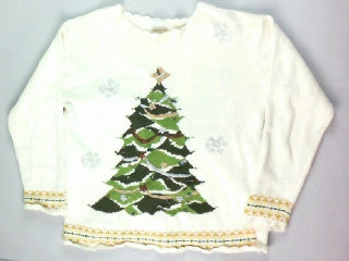 Light Up My Camo-Small Christmas Sweater