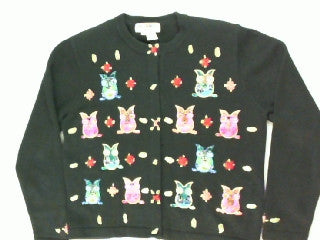 Life's A Hoot- Small Animal Sweater