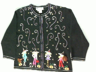 The Witchin Hour- Small Halloween Sweater