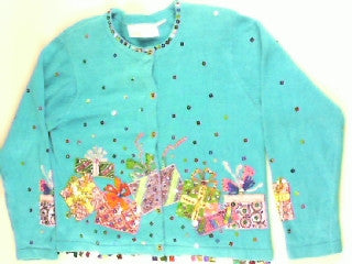 Present Explosion- Small Party Sweater