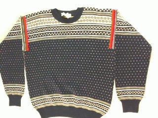 Classic Cool- Small Christmas Sweater