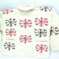 Hand Warming Sweater- Medium Christmas Sweater